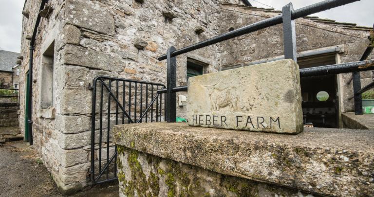 Entrance to Heber Farm