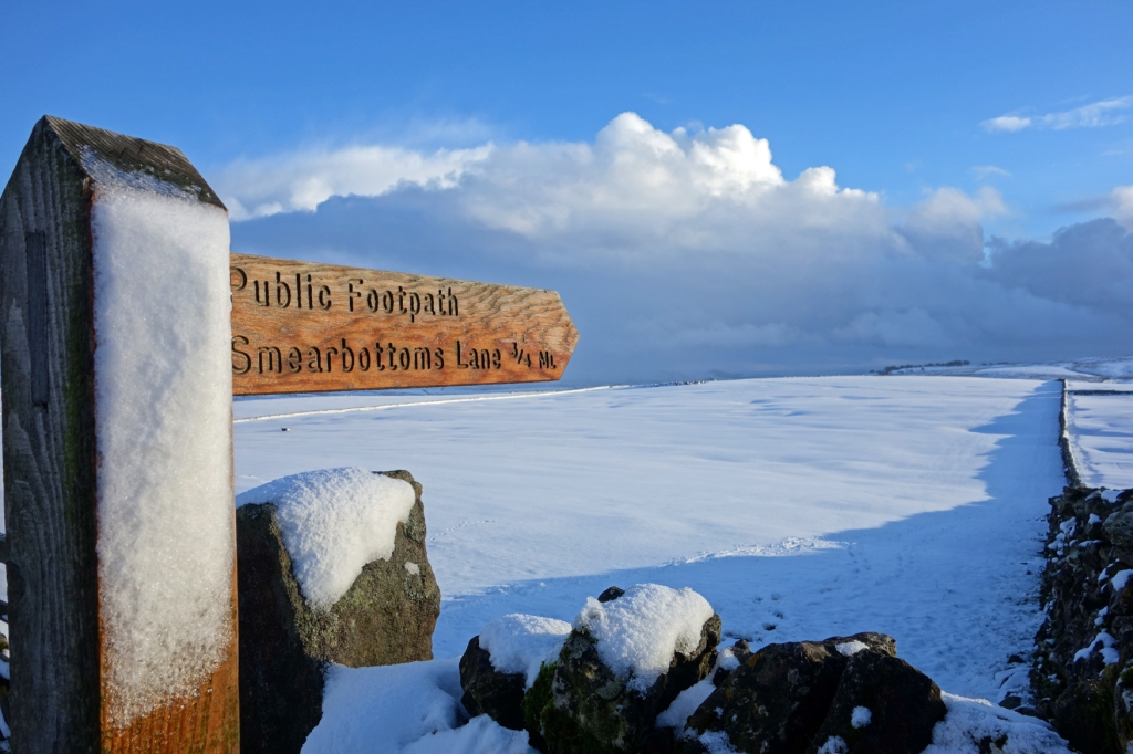 Yorkshire Dales in Snow. Image : Alice Cummings