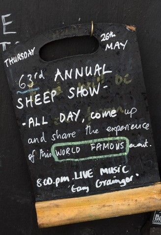 63rd Tan Hill Open Swaledale Sheep Show