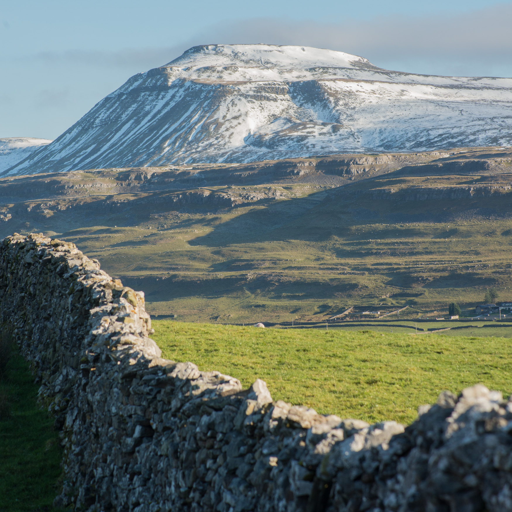 Looking to Ingleborough, Yorkshire Dales. Image Rob Fraser.