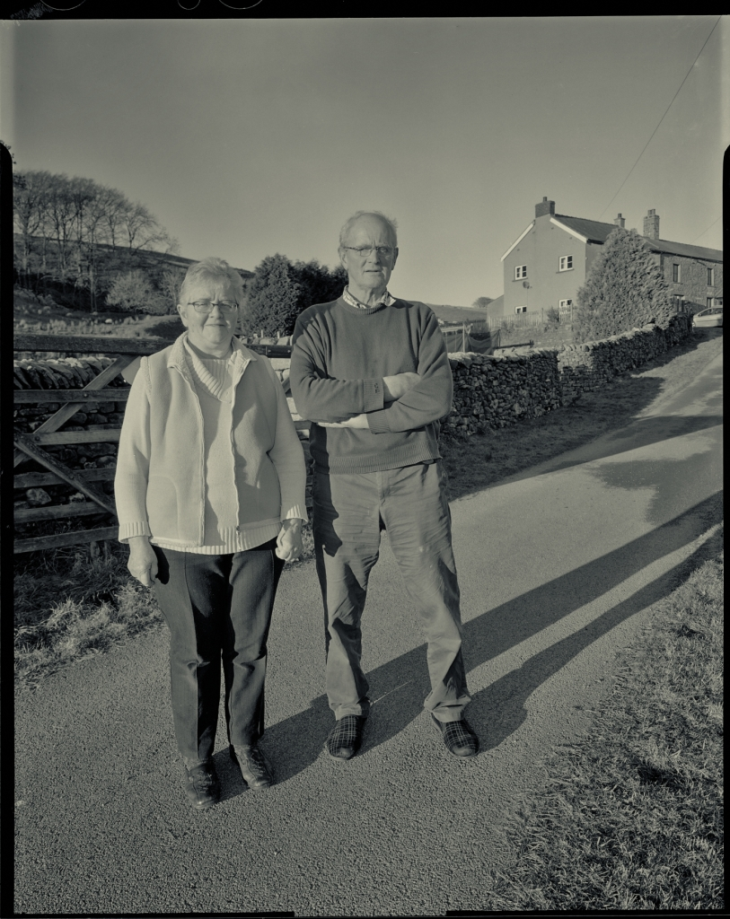 Stephanie and Michael Faraday, Kingsdale Head Farm