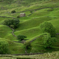 Field barn above Muker, Swaledale