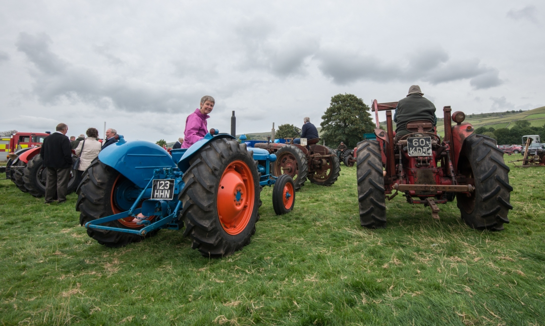 Vintage Tractors at Kilnsey