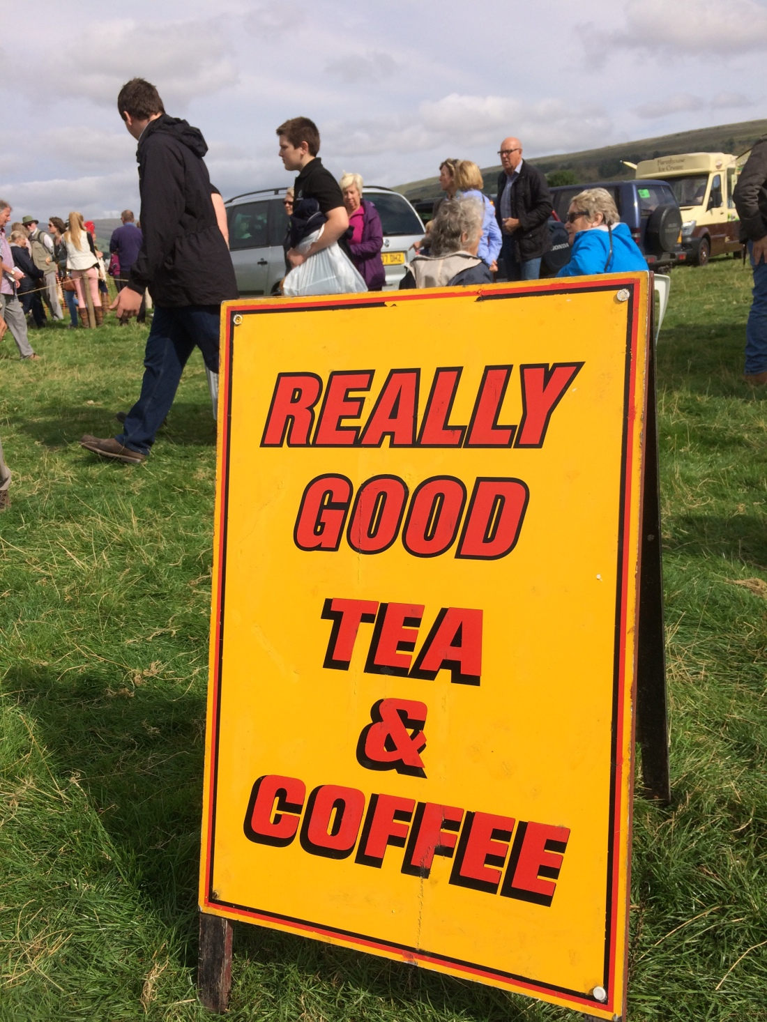 Tea and Coffee stand at Kilnsey Show