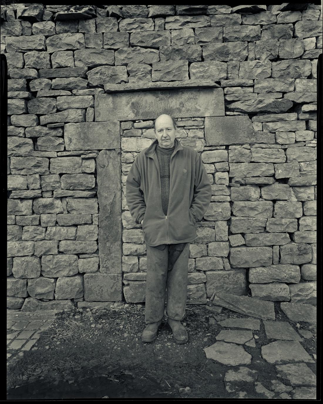 John Fawcett Yorkshire Dales Farmer at West Birkrigg