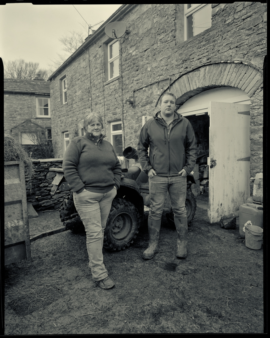 Sheena Pratt and her son James at Dale View, Yorkshire Dales