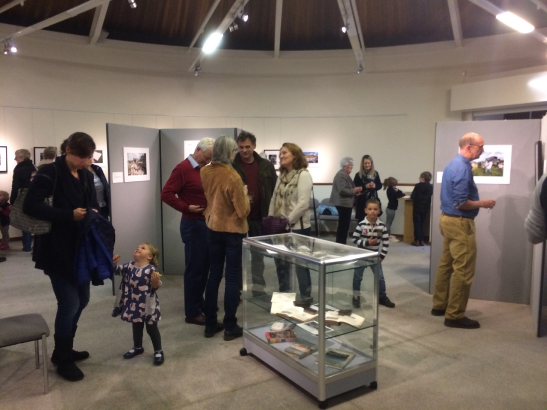 Voices from the Land exhibition opening, Hawes, Yorkshire Dales