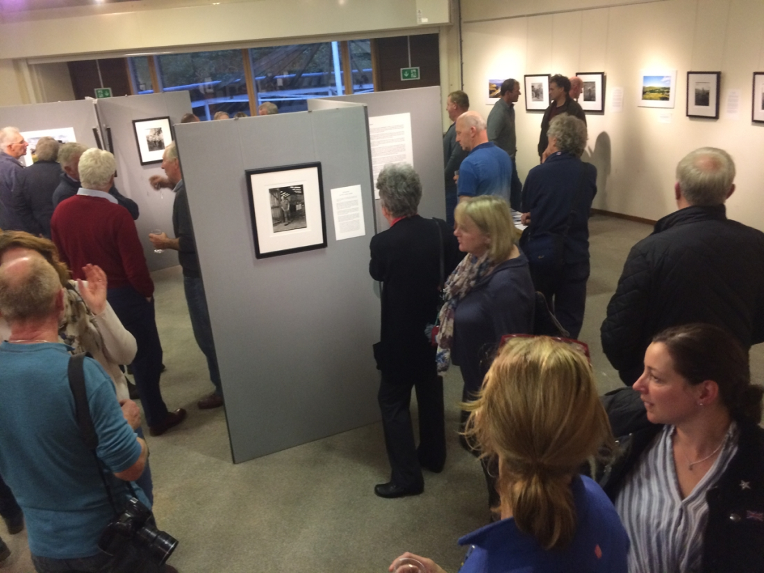 Voices from the Land Exhibition opening, Hawes Dales Countryside Museum