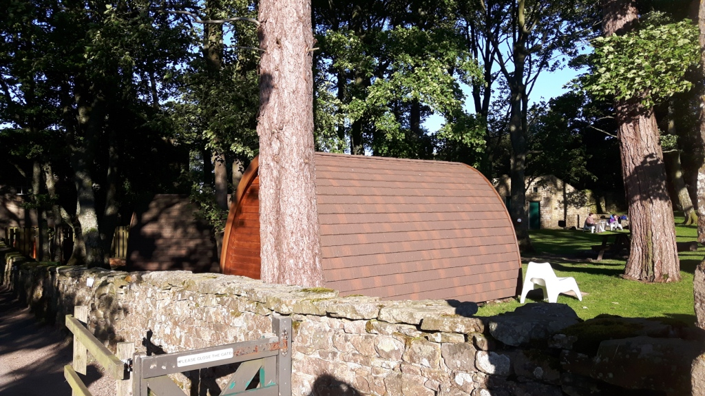 Glamping in the Yorkshire Dales